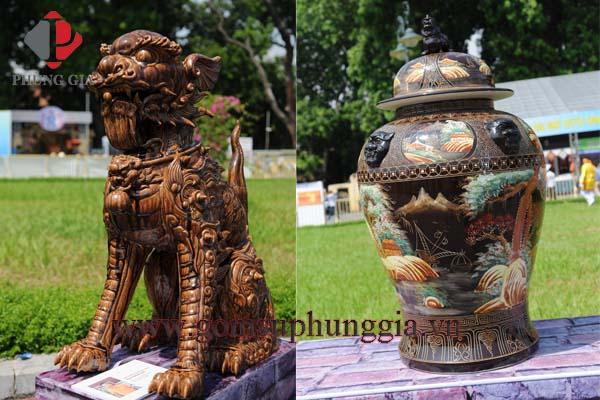 Gom Su Phung Gia Tham Gia Le Ruoc To Cac Lang Nghe Truyen Thong Tai Hoang Thanh Thang Long13
