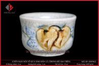 Chén rạn nổi vẽ quả đào bán lẻ (chén trong bộ ấm chén)
