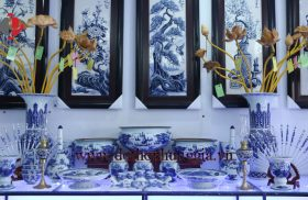 Tổng hợp 8 mẫu bát hương sứ của Gốm Sứ Phùng Gia (Phần 1)