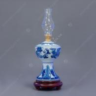Đèn dầu lam trắng vẽ Rồng S4-H16-V300ml